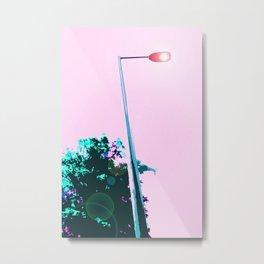 Lamppost Metal Print