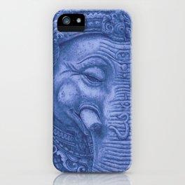 Ganesha blue iPhone Case