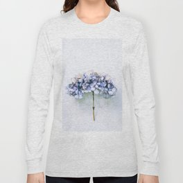 Delicate Hydrangea Long Sleeve T-shirt