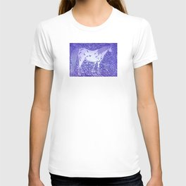 Abstract Silver T-shirt