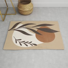 Abstract Art -Plant Rug