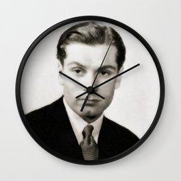 Laurence Olivier, Vintage Actor Wall Clock