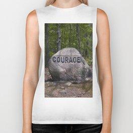 Courage Rock Babson Boulder #6 Biker Tank