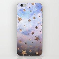 Cloudy Stars iPhone & iPod Skin