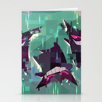 gengar Stationery Cards featuring Gengar by tinysnails