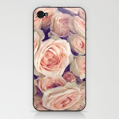 Pink Roses In A Bubble iPhone & iPod Skin