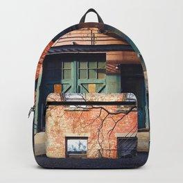 Vintage Downtown Street (Color) Backpack
