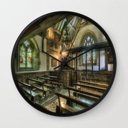 The Hidden Chapel Wall Clock