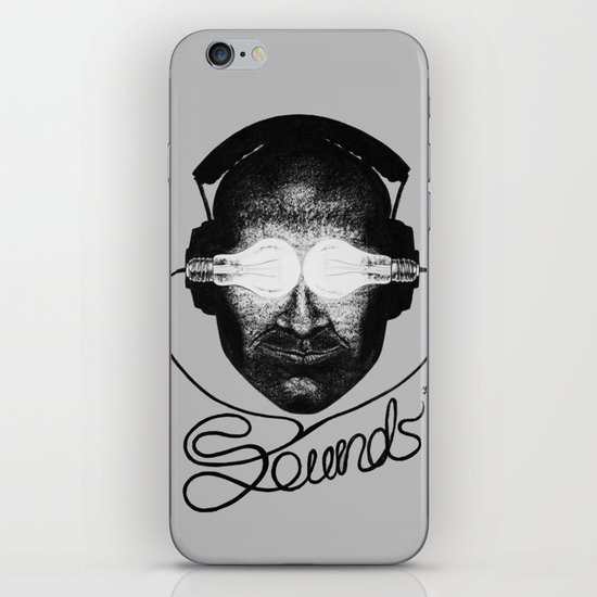 Sounds iPhone & iPod Skin