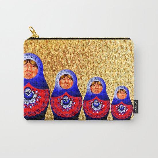Trampbushka   Funny   Comedy Carry-All Pouch