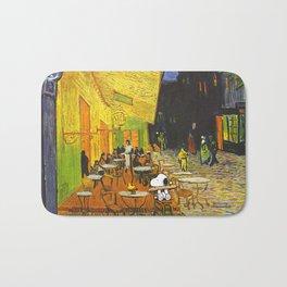 Snoopy meets Van Gogh Bath Mat