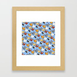 Chicken Skin Framed Art Print