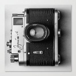 Camera style Canvas Print