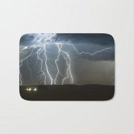 Lightning Cluster Bath Mat