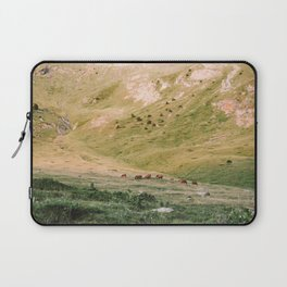 Stallions & Mares in the Valley Laptop Sleeve