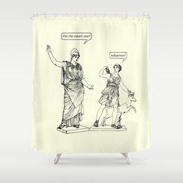 GODDESS STATUS Shower Curtain