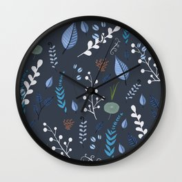 floral dreams 2 Wall Clock