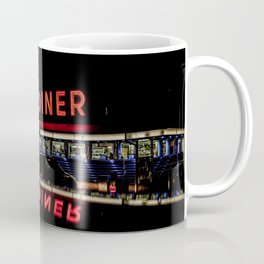 Olympia Diner Newington Connecticut Vintage Neon Stainless Steel Diner  Coffee Mug
