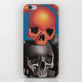 Pop Art Skulls iPhone Skin