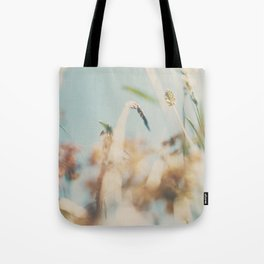 sweet sweet days of summer amongst the wild flowers ... Tote Bag