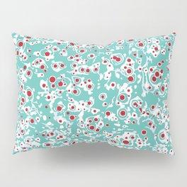 red wild dots Pillow Sham