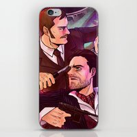 johnlock iPhone & iPod Skins featuring Watson and Holmes by Krusca