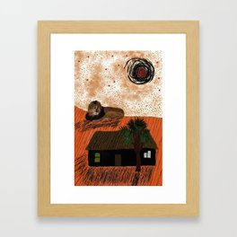 My Discovery of Africa Framed Art Print