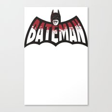 BATEMAN Canvas Print