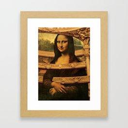 LIZA Framed Art Print