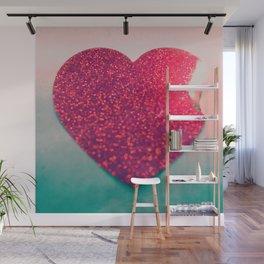 Burning love Wall Mural