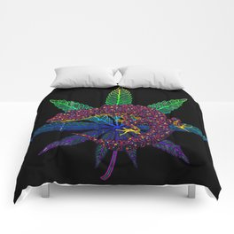 Gecko leaf Comforters