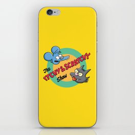 Itchy And Scratchy iPhone Skin