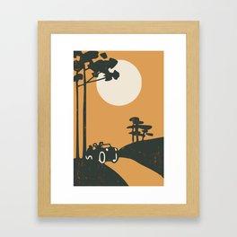 Sonata ride Framed Art Print