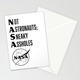 NASA not astronauts Stationery Cards