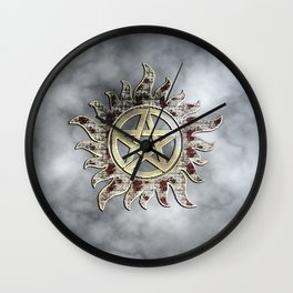 Smokey supernatural Wall Clock