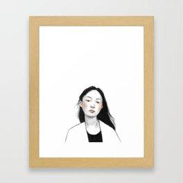 Young Girl Framed Art Print