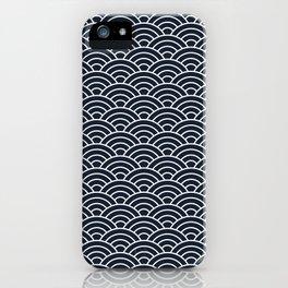 Seigaiha iPhone Case