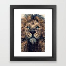 King of Judah Framed Art Print