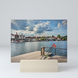 Prepared For Rowing At Henley Mini Art Print