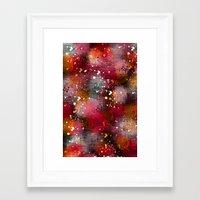 splatter Framed Art Prints featuring Splatter by KRArtwork