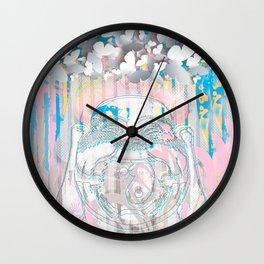 Buddha-Love & Butterfly Wall Clock