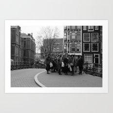 Women of amsterdam Art Print