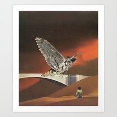 Motheaten Memories 1 Art Print