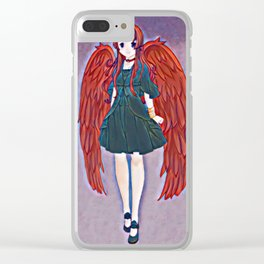 Scarlet Clear iPhone Case