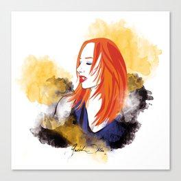 HEY JUPITER Canvas Print