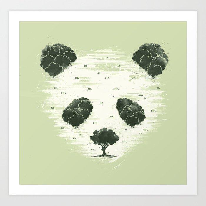 Deforestation Art Print By Buko2 Society6