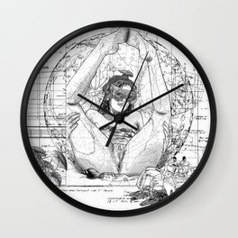 The constellation erotique 2489 Wall Clock
