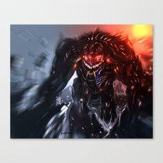 Shadow Titan Canvas Print