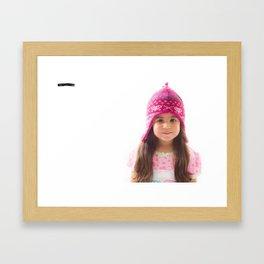 Angels Looks Framed Art Print