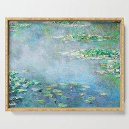Monet Water Lilies / Nymphéas 1906 Serving Tray